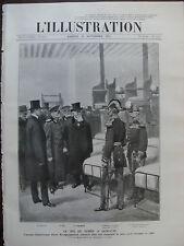 L'ILLUSTRATION 1911 N 3587 LE ROI DE SERBIE A SAINT CYR