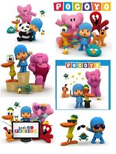 *****6 POCOYO  *******  ***FABRIC/T-SHIRT IRON ON TRANSFERS