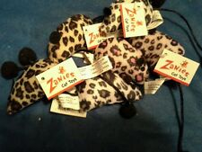 Zanies Twice As Nice Mice with Catnip Cat Toy. 6 Total.