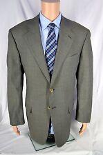 Pal ZILERI ITALY Men's Gray Brown Wool Luxury Blazer 46L Long Fully Canvassed