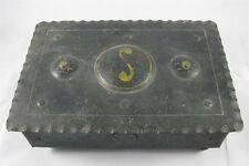 Goberg Hand Painted Iron Cigar Box