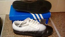 half off bd834 fd3cf Pre-Owned Adidas Originals Seeley-HVW8 Black   White Trainers size 10.5