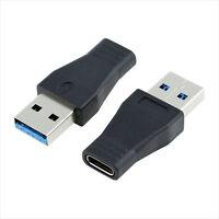 USB-C hembra A USB 3.0 macho adaptador puerto USB 3.1  tipo C tipo-A convertidor