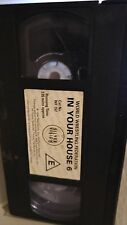 WWF In Your House 6 Rage in a Cage ORIG VHS WWE Wrestling TAPE + HÜLLE