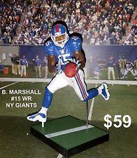 Custom B. Marshall #15 WR NY Giants Mcfarlane figure