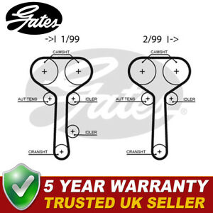 Gates Timing Belt Fits Ford Focus (1998-2004) Mondeo (1998-2000) - 5508XS