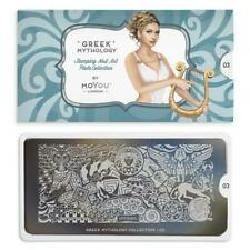 Moyou London Stamping Plate Nail Art Accessories Greek Mythology Collection