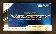Wilson Tour Velocity Reduces Hooks & Slices 15 Golf Balls Tour Accuracy