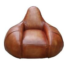 Artistic Design   Real Leather   Brown   Lounge Chair   Cadmus