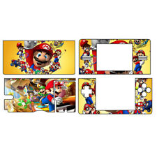 Fist Super MARIO 160 Vinyl Decal Sticker Case Cover For NDSL Fit Ds Lite Skin