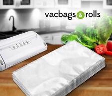 100 X Bolsas de Vacío Sellador de alimentos con textura 25 cm X 30 cm en relieve-italiano - 100um