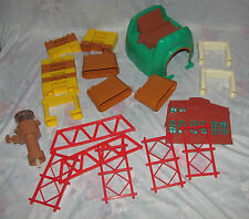 Thomas Train Tomy Set - Bridge, Water Tower, Supports. Random Pieces
