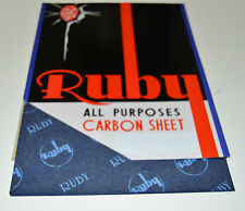 12 x A4 CARBON PAPER SHEETS HANDCOPY  BLUE