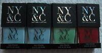 New York & Company NY&CO Nail Polish Lot .47oz/14 ml Blue Green Red