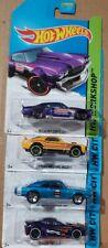 Hot Wheels Lote X4 Chevelle Mustang Mach 1 Cargador Twister Nuevo Sellado De Fábrica