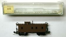 Kadee K MTL Micro-Trains 50000 unlettered caboose dark brown KDPT