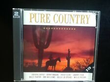 PURE COUNTRY 1996  2-CD Crystal Gayle Lynn Anderson Anne Murray Dolly Parton etc
