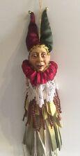 Katherine's Collection Wayne Kleski Retired Jester Tassel Ornament NOS