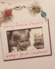 Sandra Magsamen Personalized Baby's First Christmas Custom Beaded Frame Kit