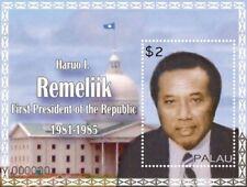 Palau - 2011 - First President Of The Republic Haruo Remeliik Souvenir Sheet MNH