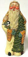 Vintage Lenox Country Santa Christmas Figurine by Linda M. Horn