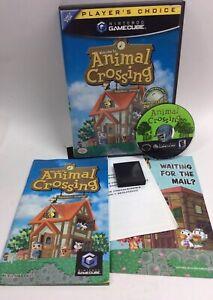 Animal Crossing Player's Choice (Nintendo GameCube, 2002) CIB + Memory Card NICE