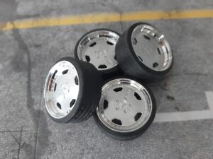 1:18 Scale AMG STYLE 19 INCH TUNING WHEELS, Multiple colours available!! NEW!!