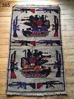 •365• Beautifully Handmade  Genuine Afghan War Rug,  Traditional Style 143x87 cm