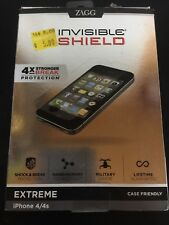 ZAGG Original Invisible SHIELD for Apple iPhone 4/4s Clear Screen Protector