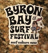 Byron Bay Surf Festival Sticker - Surfing Australia Waves Surf Culture Now