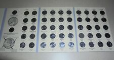 1999  2008 P D State Quarters in Album Set~ COMPLETE ~ 50 Uncirculated Coins!