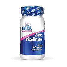 VITAMINA HAYA Labs Zinc Picolinate 30mg 60 Tablets Zinco picolinato
