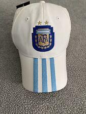 ADIDAS ARGENTINA NATIONAL TEAM AFA 3S CAP HAT ADJUSTABLE