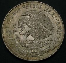 MEXICO 25 Pesos 1968 - Silver - Summer Olympics Mexico City - XF - 922
