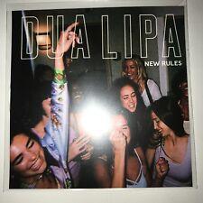 "DUA LIPA ""NEW RULES"" 10 REMIX WARNERS BRAZILIAN CD PROMO"