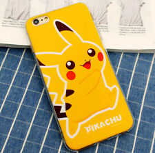 For iPhone 6 4.7 Pokemon Go Game Pokeball Anime Cartoon Clear Case Cover