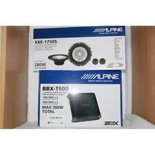ALPINE BBX-T600 + ALPINE SXE-1750S AMPLIFICATORE 2 CH + KIT 2 VIE NUOVI