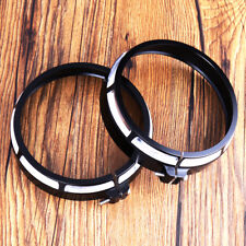 """Burst Trim Ring For 4 1/2"""" Auxiliary Lamps Fit Harley Touring Road King Models"""