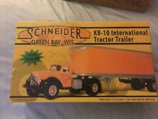 First Gear Scheider KB-10 International Tractor and Trailer