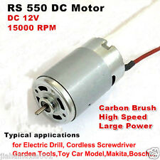 High Power DC 12V 15000RPM Large Torque Garden Electric Tool Drill RS-550 Motor