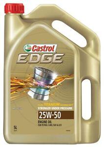 Castrol EDGE 25W-50 Semi Synthetic Engine Oil 5L 3383419 fits Dodge Phoenix 5.2