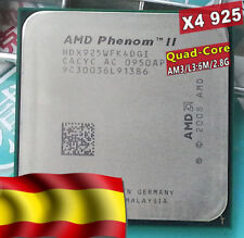 Procesador CPU AMD Phenom II X4 925 -  Pasta Térmica incluida