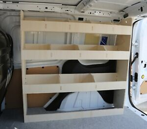 Ford Connect 2014+ Van Racking Tool Storage Shelving, Driver Side Rack