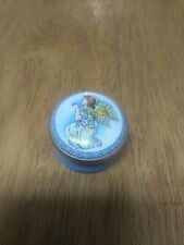 Halcyon Days Kneeling Angel in Prayer Enamel Box - Retired Circa 1980's Rare.