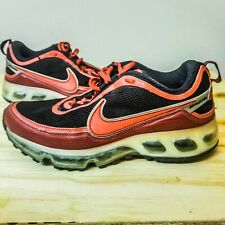 Nike Air Max 360 Shoes Retro Nike ID 317382-991 Black Red Men's Size 7.5