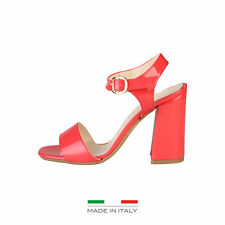 Made in Italia - sandalias Angela rojo -altura Tacón 10cm- 37