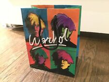 Andy Warhol Vintage 80s RARE  Paper Tote Bag Artwork