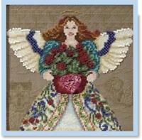 MILL HILL  - JIM SHORE Counted Cross Stitch kit - SUMMER ANGEL - JS30-0102