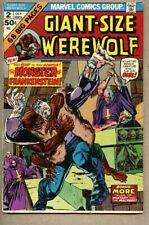 Giant-Size Werewolf #2-1974 fn+ 6.5 Frankenstein Vs Werewolf By Night Giant Size