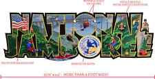 """2017 National Boy Scout Jamboree HUGE Collector's Promo Patch 14""""x4.5"""" - Summit"""